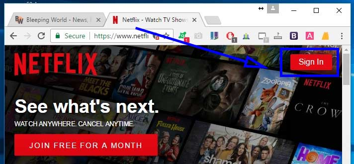 How To Change My Netflix Password