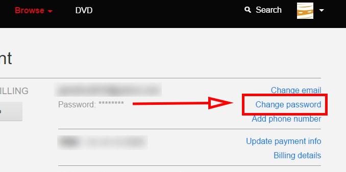 How To Change My Netflix PasswordHow To Change My Netflix Password