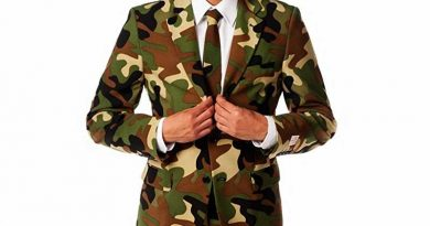 Men's Commando Party Costume Suit
