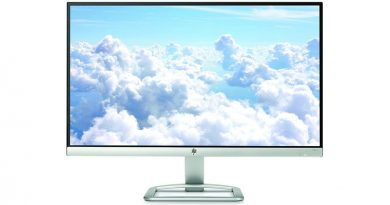 HP LED Monitor Backlit