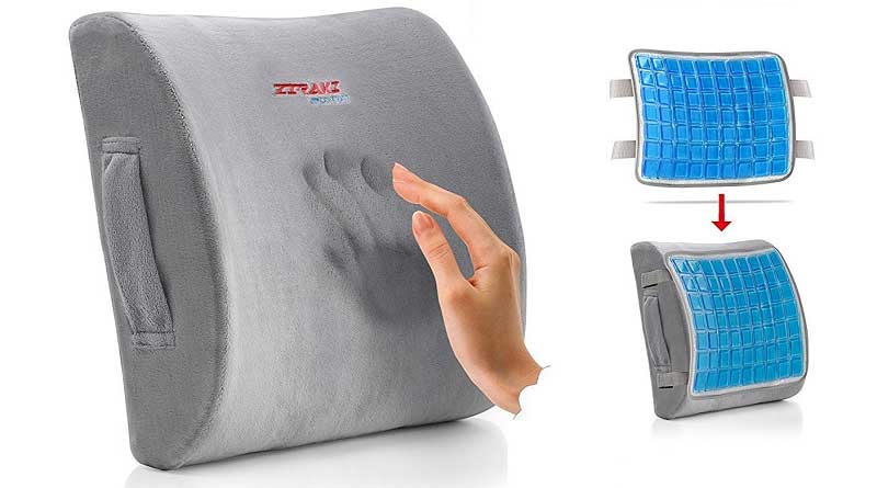Lumbar Support Cushion Memory Foam Back