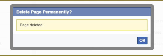 How To Remove Facebook Page