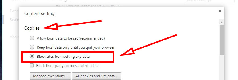 how to delete cookies in chrome browser