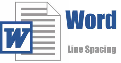 How To Change Line Spacing in Microsoft Word