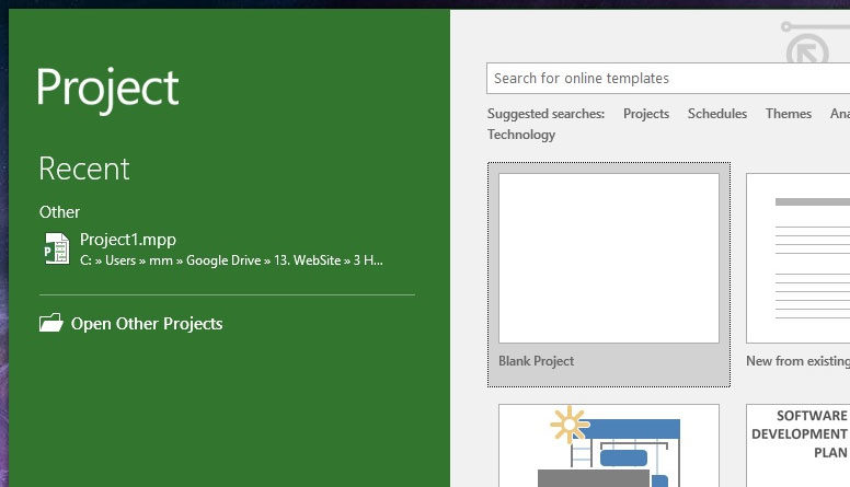 How To Create A Project Microsoft Project Plan