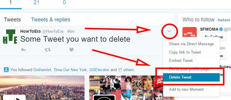 How To Delete a Tweet on Twitter