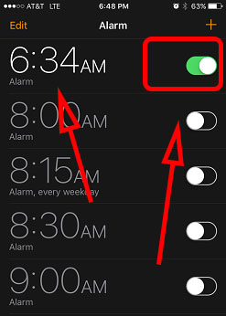 How To Set Alarm on iPhone