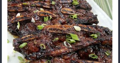 Korean Rib Recipe 800x445