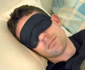 Wearing A Night Mask Can Help your get more soundful rest