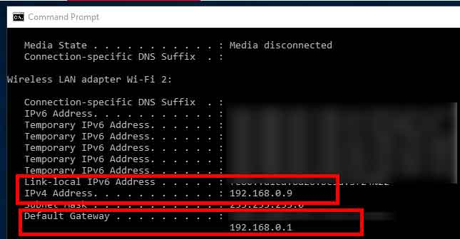 what is my ip address port open