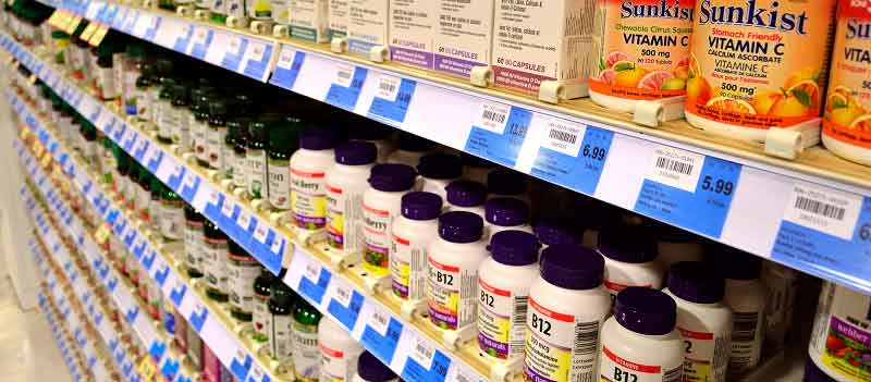 Antidepressant drugs can be found in grocery isle
