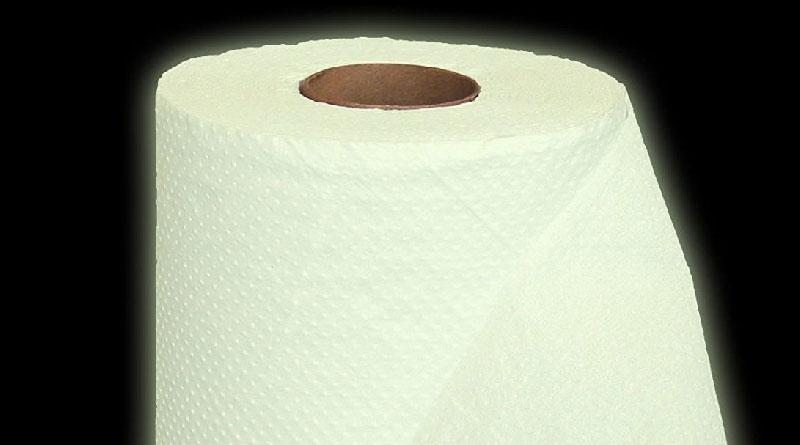Dark Toilet Paper