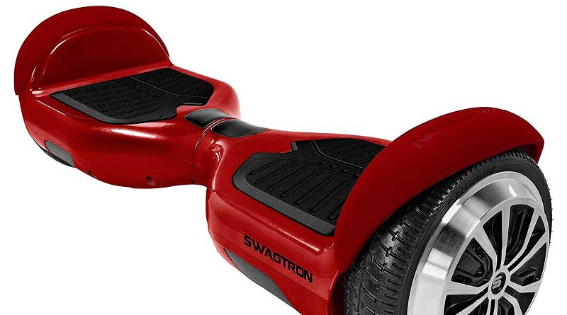 SwagTron T1 HoverBoard Review | Motorized Scooter - Bleeping World