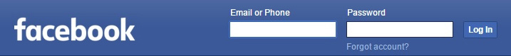 Start By Logging Into Facebook Account to Delete Forever