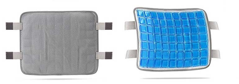gel pad included for cooling Lumbar Support Cushion