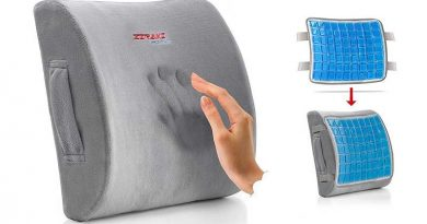 Lumbar Support Cushion Memory Foam Back