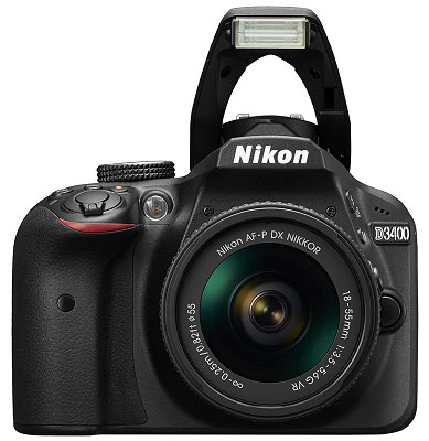 Nikon D3400 DSLR Camera DX NIKKOR Review