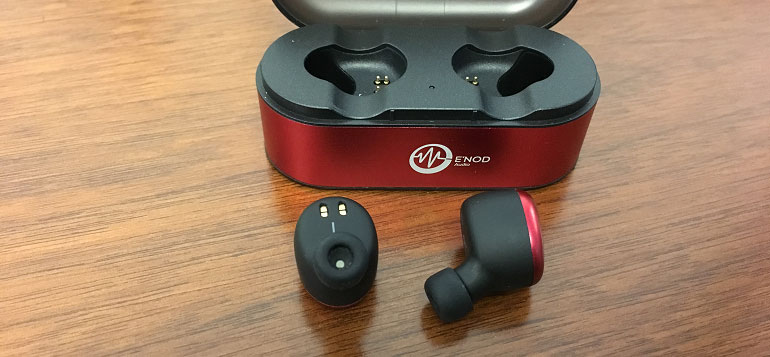 ENOD Mini Ring True Wireless Stereo and Bluetooth