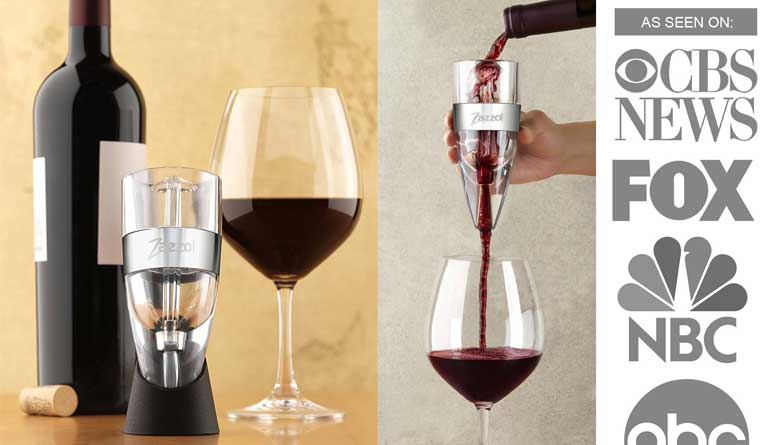 Best Wine Aerators for Taste Zazzol 770m